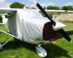 light aircraft cover