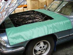Cover Systems Car engine bay shroud
