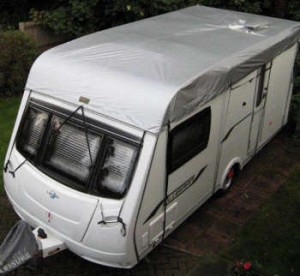 roof only caravan cover