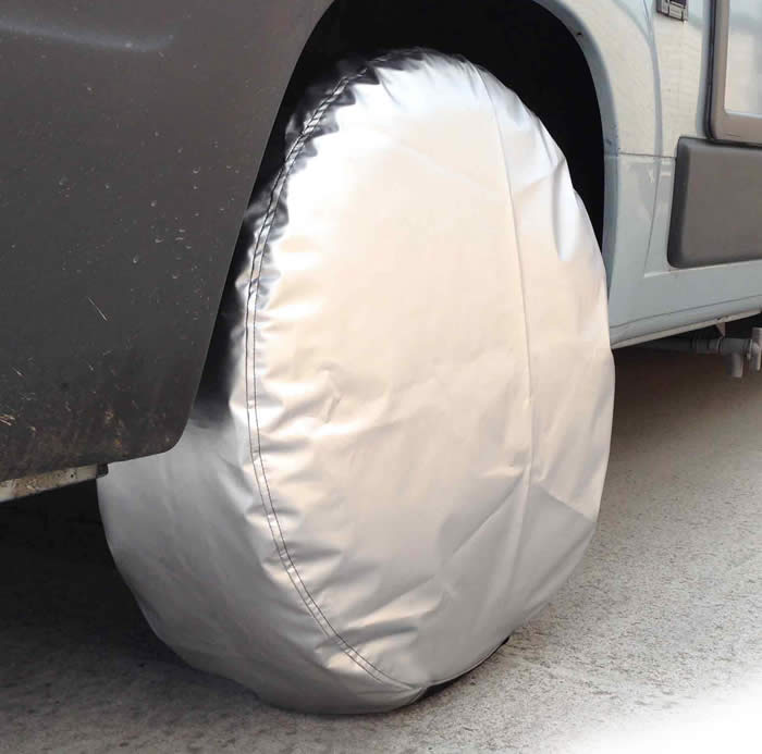 silver car wheel cover