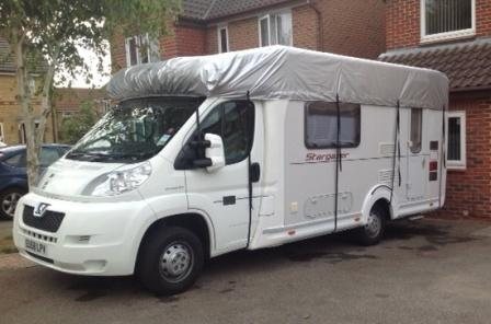 Motorhome Covers Full Or Roof Only Height And Windscreen